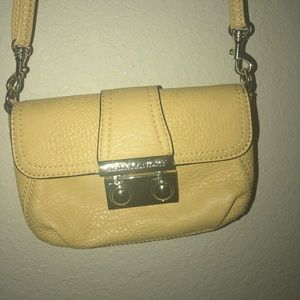 Mini mustard yellow purse